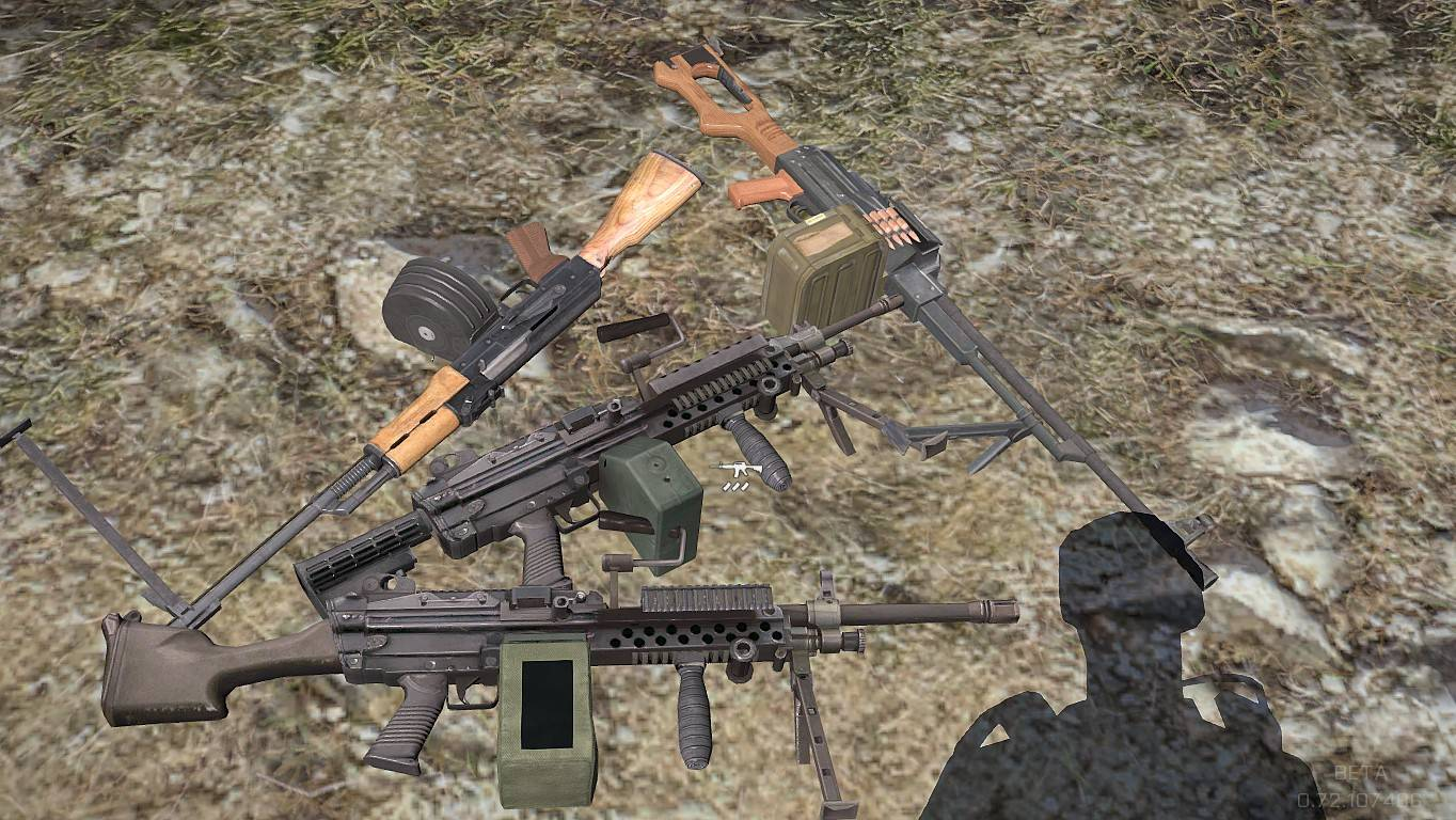 Massi's NATO SF and RUSSIAN SPETSNAZ WEAPONS mod updated - Griff's Den