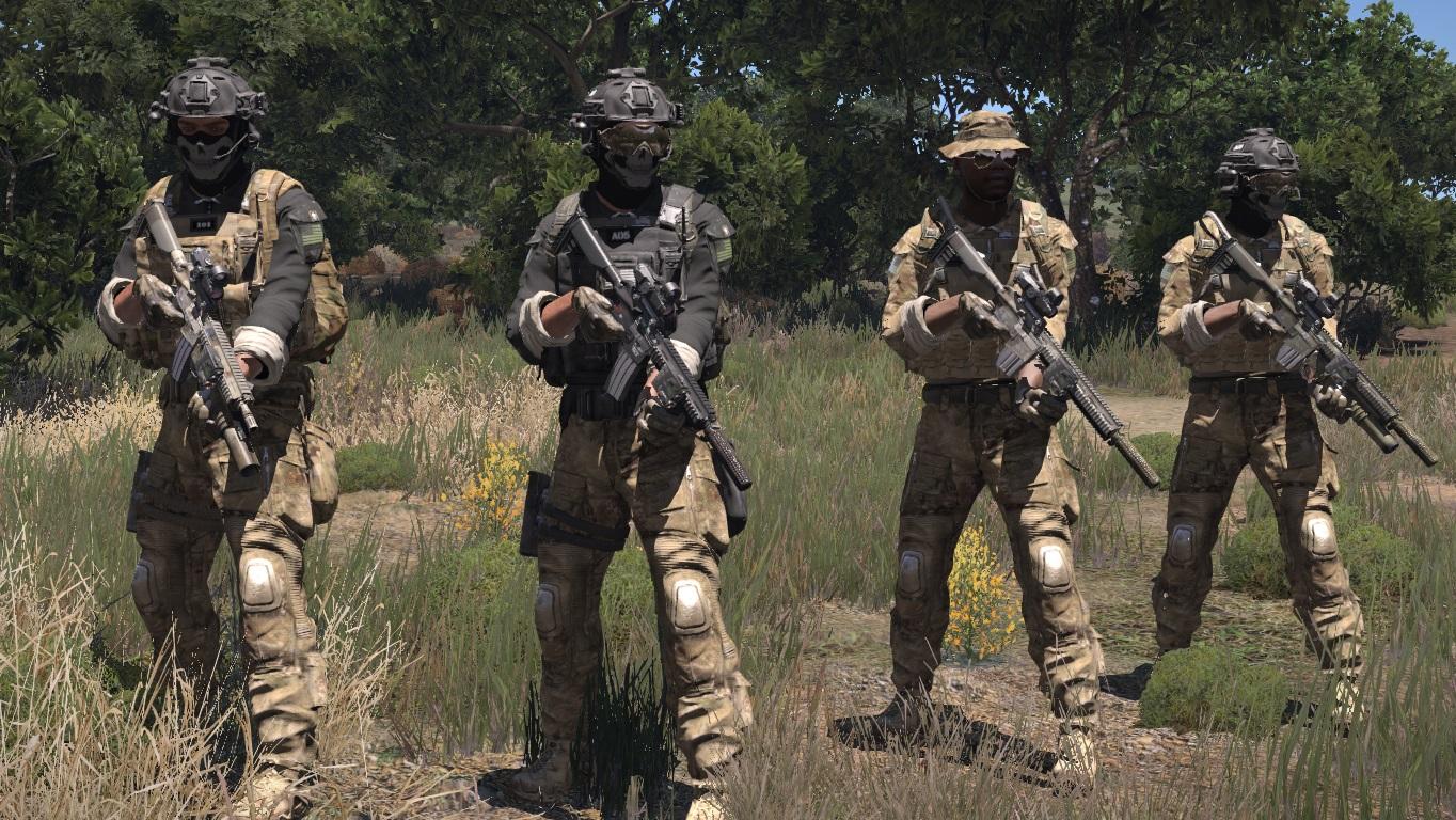Massi's USSOCOM 75th Ranger DEVGRU and Delta Force mod updated