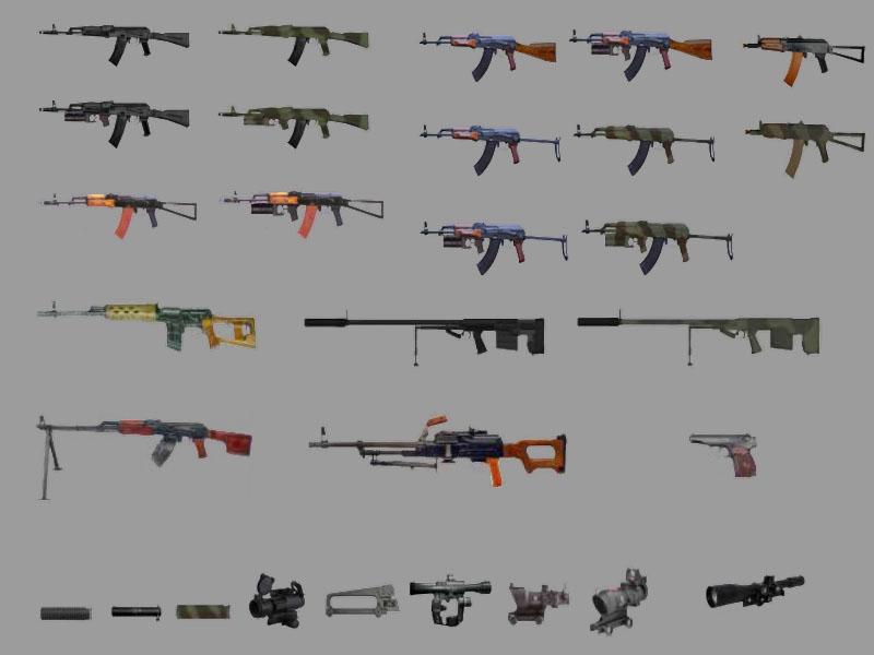 Spetsnaz Weapons
